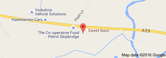 Map of Ainsty Farm Shop