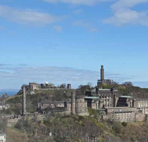 scotsman hotel view