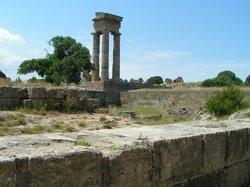 felicita pythian-temple-of-apollo rhodes