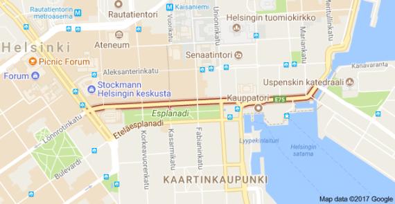 Pohjoisesplanadi, Helsinki, Finland