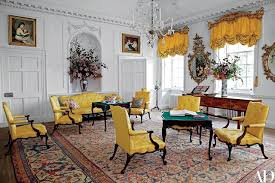 dumfries house yellow room