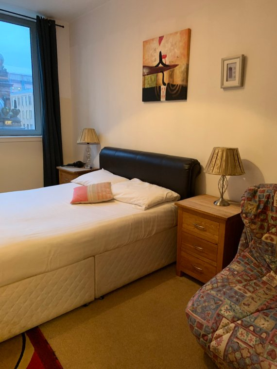city centre bedroom