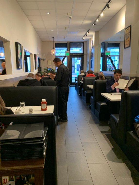 Sam's diner in