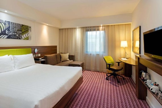 hampton by hilton room